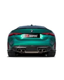 Echappement AKRAPOVIC BMW M4 G82 / M3 G80 (2021+)- Silencieux à valves