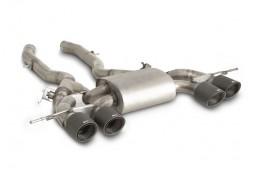 Echappement inox REMUS BMW M4 G82 G83 / M3 G80 + Competition (2021+)-Silencieux à valves Homologué