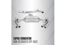 Ligne d'échappement FAP-Back à valves MILLTEK CUPRA Formentor 2,0 TFSI Quattro 310ch 4Drive (2021+)(Sport)
